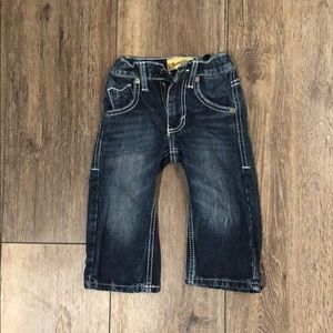 2T toddler boys blue jeans